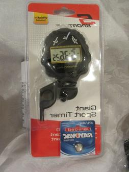 Go Walking Digital Stopwatch Sportimer with Whistle