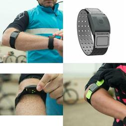 Heart Rate Monitor Armband - With Dual Band Radio ANT+ And B