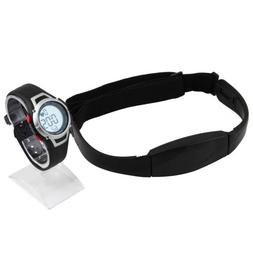 Heart Rate Monitor Smart Watch Chest Strap Wireless Fitness