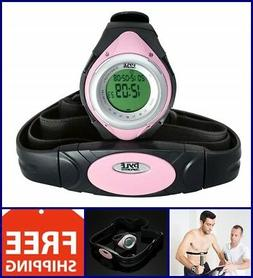 Heart Rate Monitor Watch Chest Strap Pulse Counter Exercise