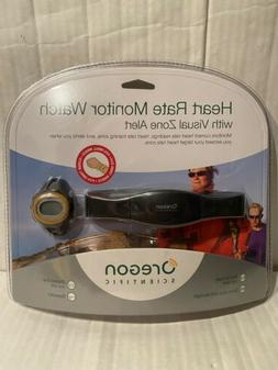 Heart Rate Monitor with Watch Oregon Scientific With Visual