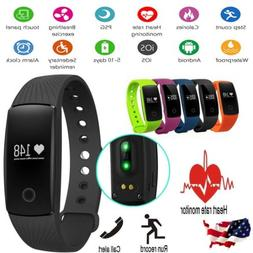 ID107 Smart Wristband Sport Watch Heart Rate Monitor Fittnes
