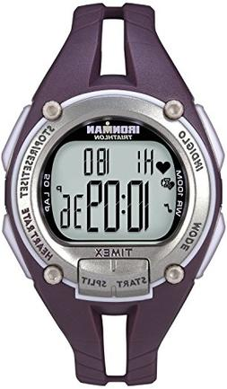 Timex Ironman Road Trainer Heart Rate Monitor Watch, Plum/Si