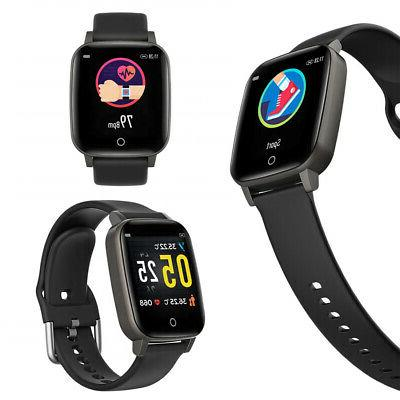 Indigi Smart Watch, Fitness Tracker with Temperature & Heart