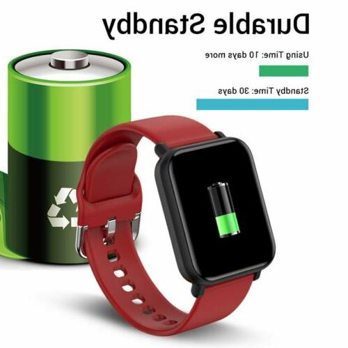 2020 Touch Women Heart Rate Bracelet IOS Android Waterproof