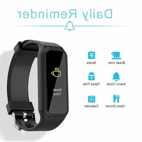 Fitness Activity Watch For Men Women With Heart Rate Monitor