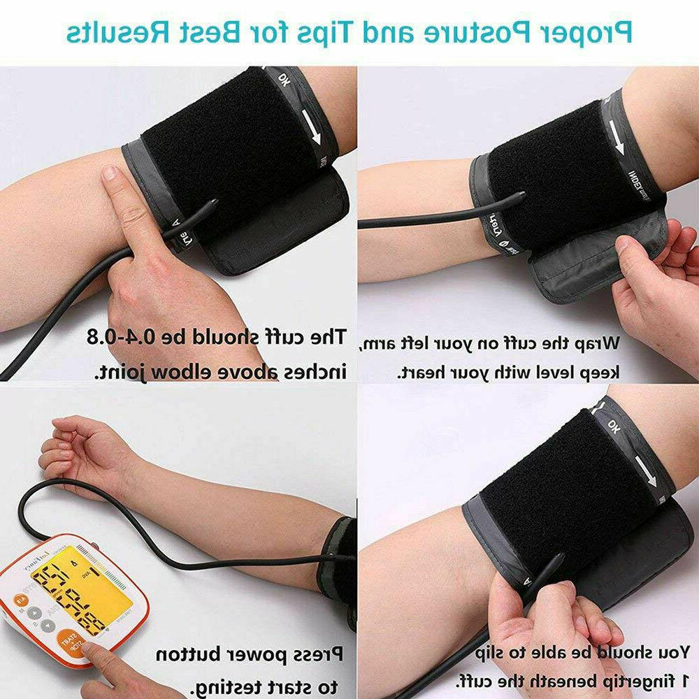 Arm High Blood Monitor Machine Rate Pulse Tester