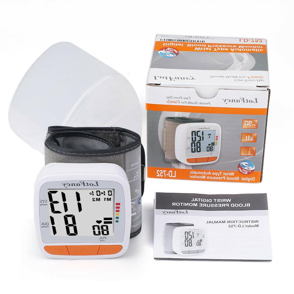 Automatic Blood Monitor BP Cuff Machine For Size Wrist