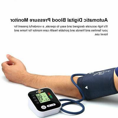 Automatic Blood Monitor Screen Heart Rate US