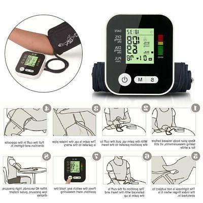 Blood Pressure Monitor Screen Heart US