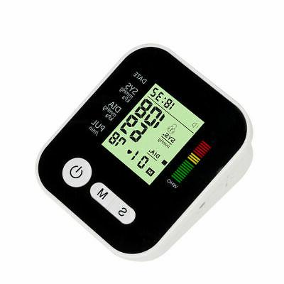 Automatic Upper Blood Pressure LCD Screen Rate US