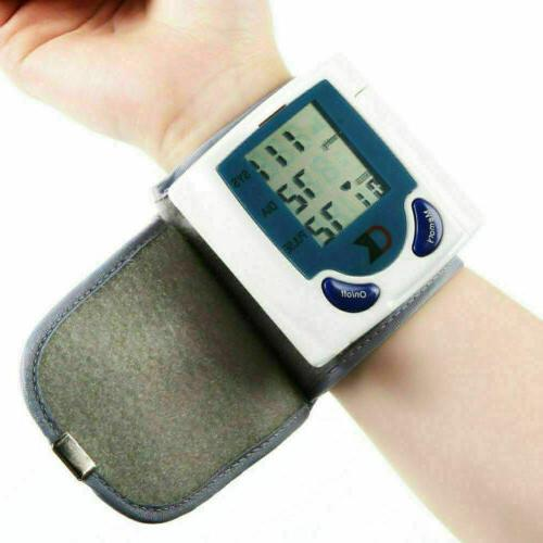 Automatic Blood Monitor BP Cuff Heart Rate