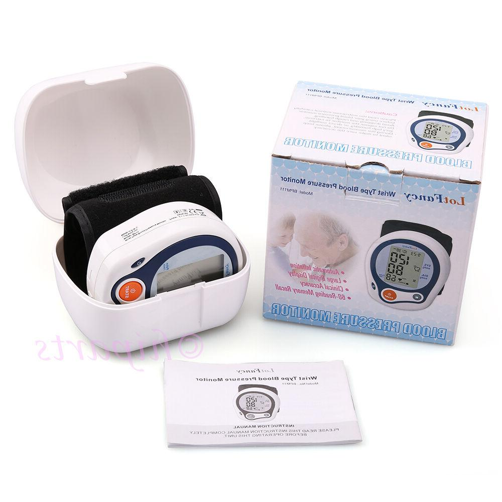 LotFancy Blood Monitor with Case, Irregular Detector