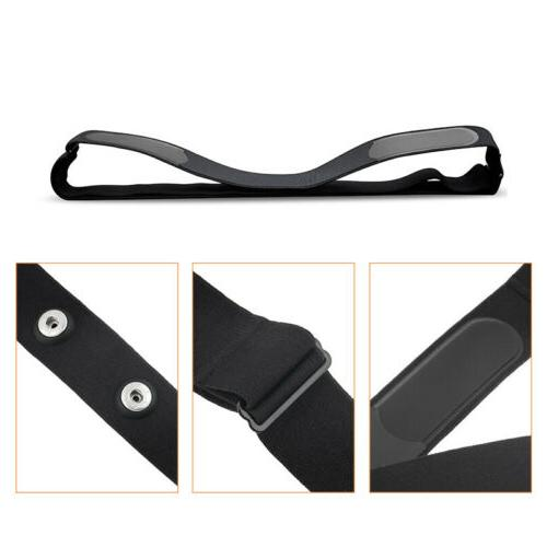 Bluetooth Rate Monitor Sensor Chest Strap Belt Outdoor