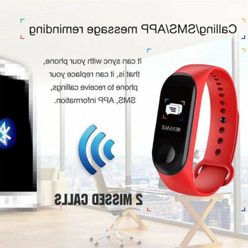 Bluetooth Bracelet Sport Blood Pressure Monitor