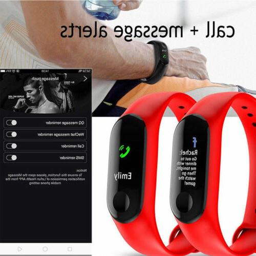 Bluetooth Sport Watch Blood