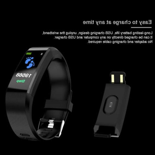 Bluetooth Sport Watch Heart Blood