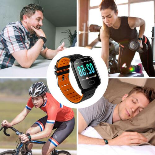 Bluetooth Pressure Rate Fitness Universal