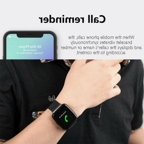 Bluetooth Smart HeartRate Monitor Fitness Stainless Steel