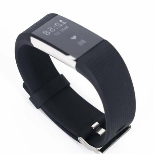 Fitbit Charge 2 Heart Rate Monitor Activity Tracker FB407SBUL US