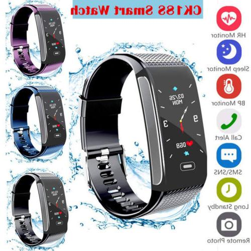 ck18s smart watch heart rate monitor fitness