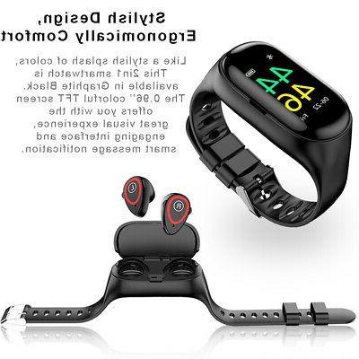 Smart Bracelet Exercise & Fitness Tracker Watch Pedometers F