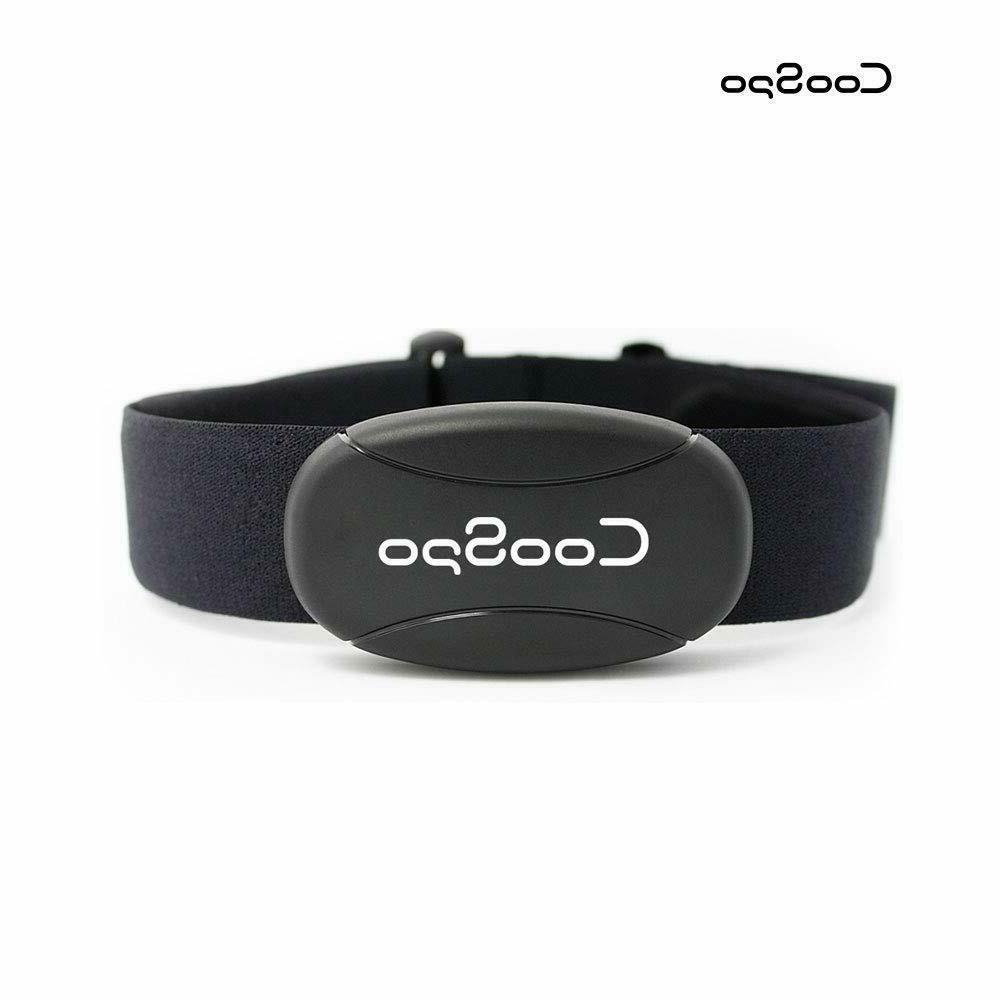coospo fitness tracker heart rate monitor chest