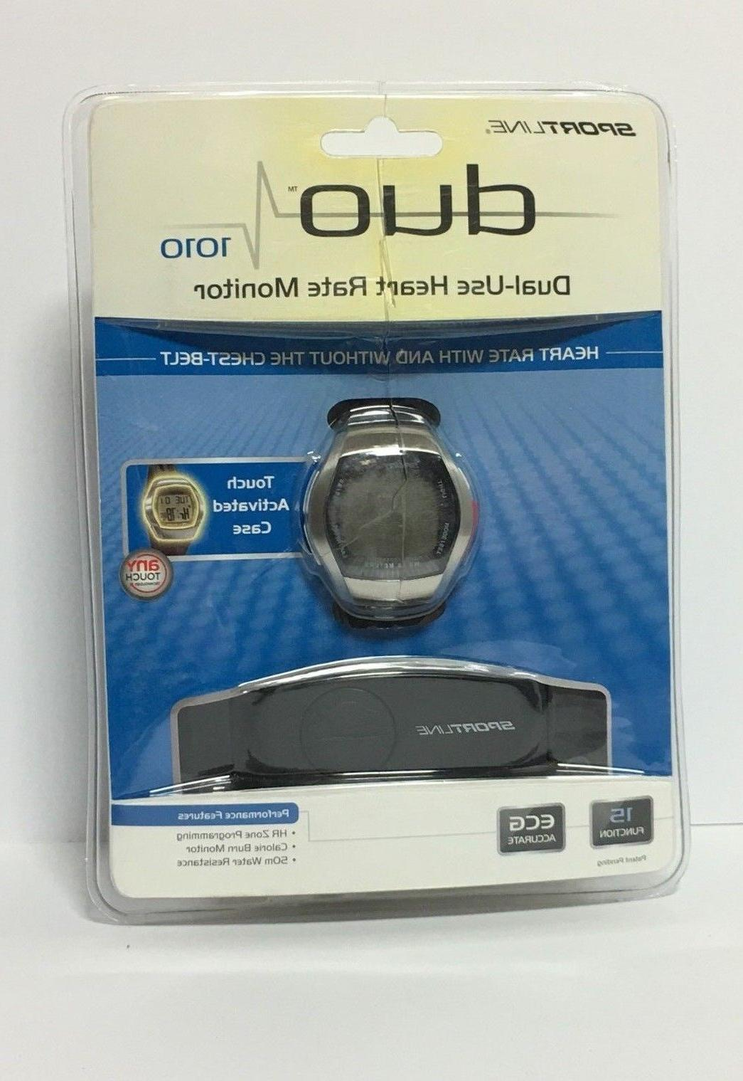 duo 1010 dual use heart rate monitor
