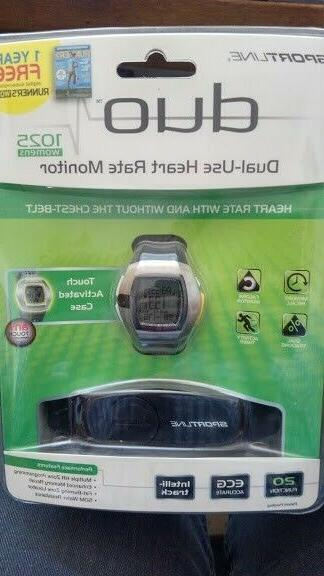 duo 1025 heart rate monitor