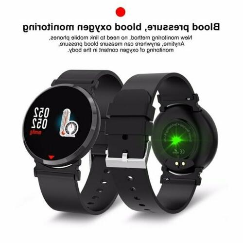 Smart Bluetooth Blood Pressure Rate Monitor Fitness