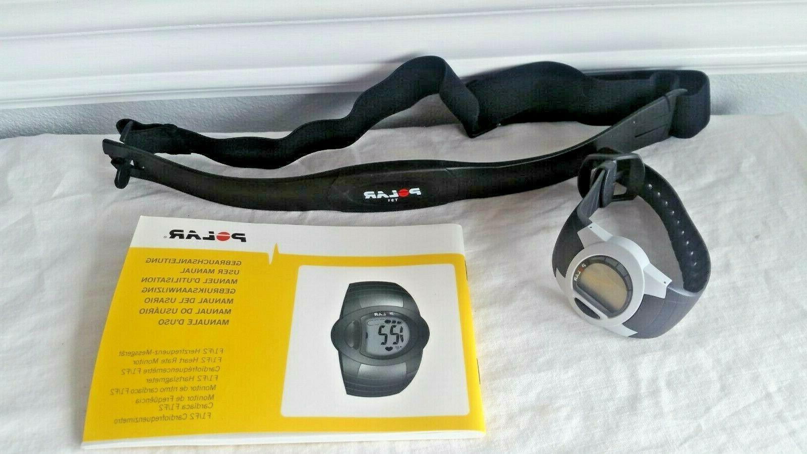 POLAR Monitor with Instructions Strap New Battery
