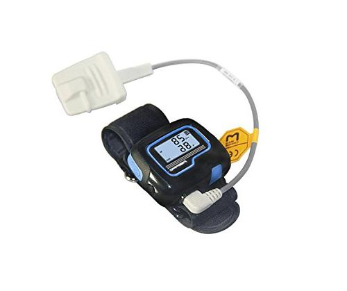 FDA Cleared Wrist Pulse Oximeter Overnight Home Sleep Tester Oxygen Monitor and Software
