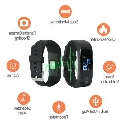 Waterproof Watch Fitbit Heart Rate Tracker