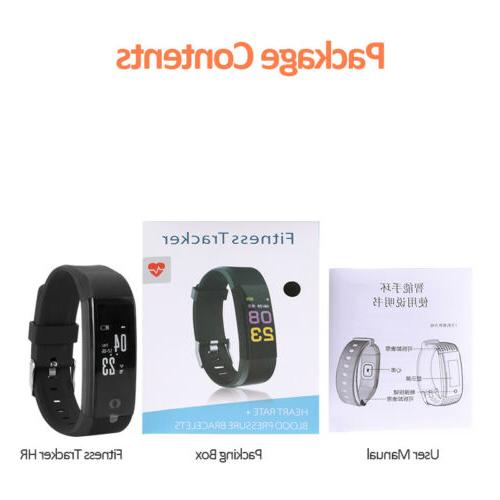 Waterproof Smart Fitbit Heart Rate Fitness Tracker Bluetooth