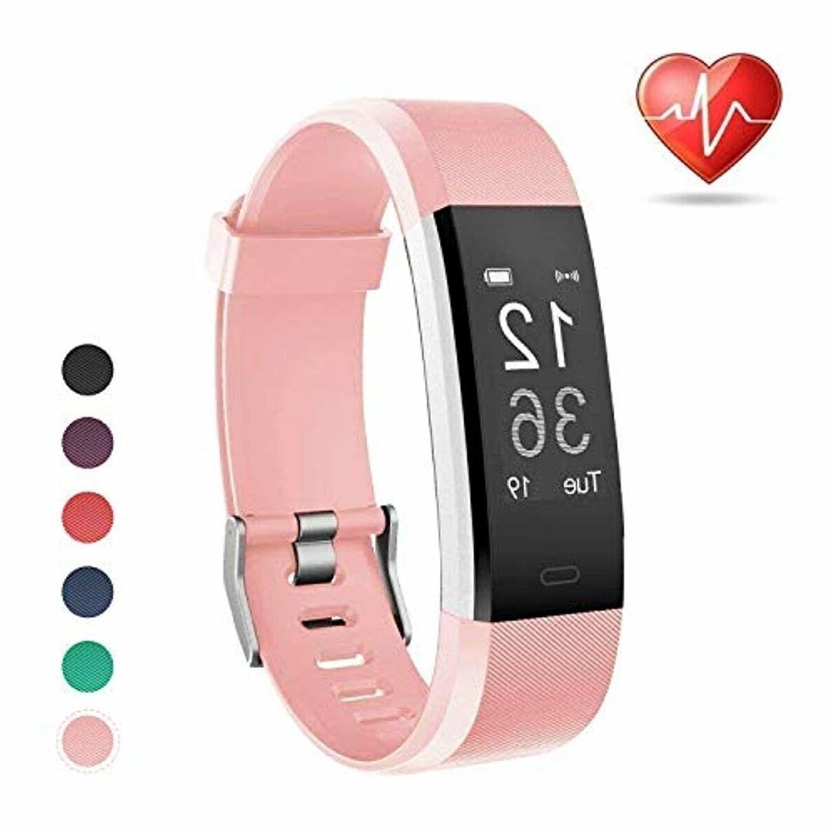 fitness activity tracker by heart rate monitor