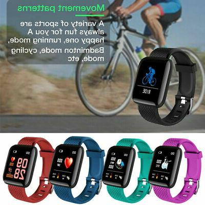 Smart Watch Band Activity Tracker for Rate Oxygen Blood