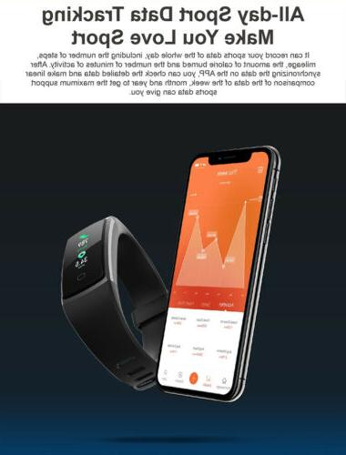 LICEYOO Activity with Heart Rate Monitor Waterproof