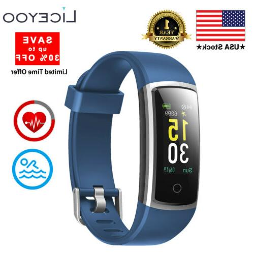 fitness activity tracker with heart rate monitor