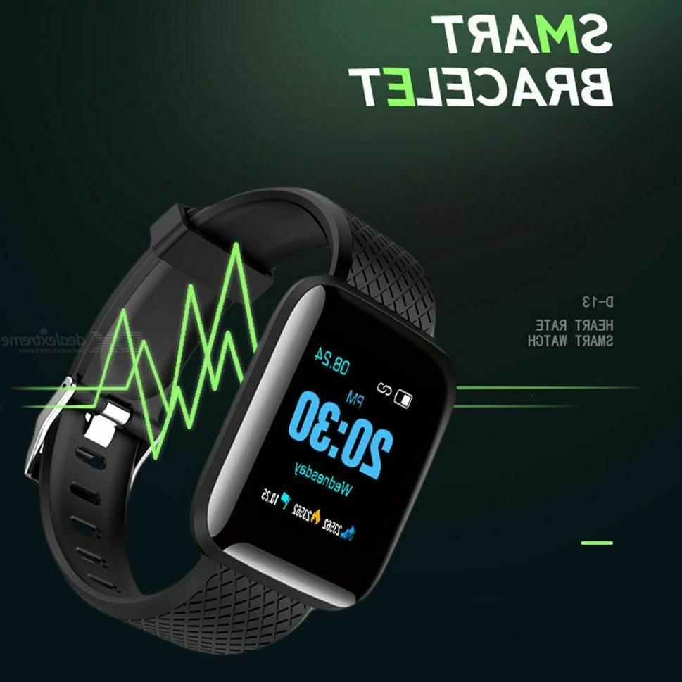 Smart Watch Band Rate Fitness Tracker