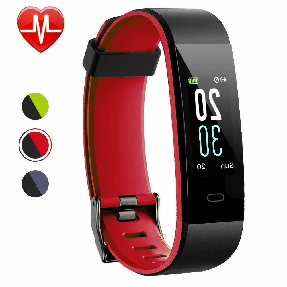 fitness tracker color screen activity tracker