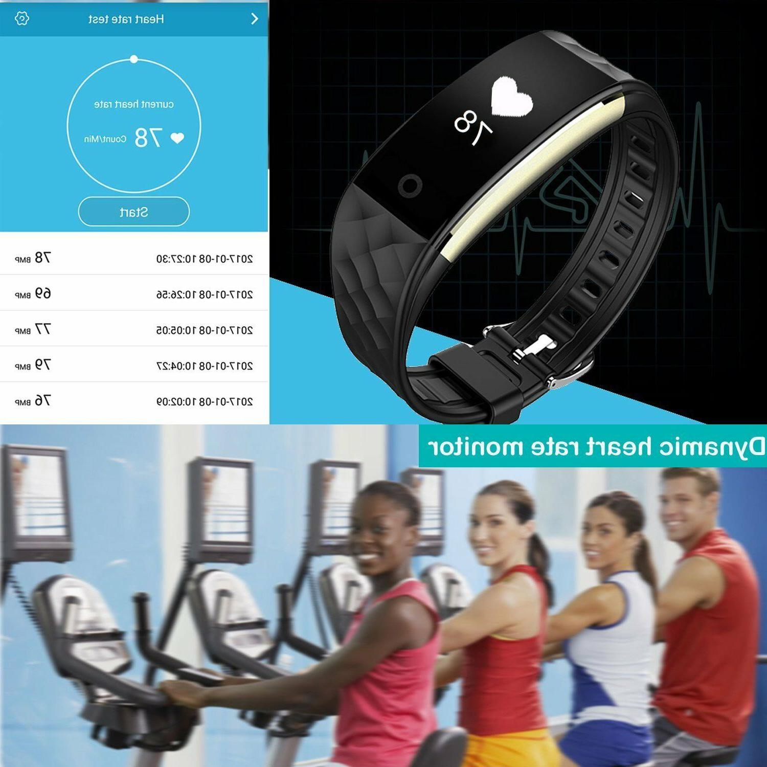 Fitness Activity Watch Wristband Heart Rate