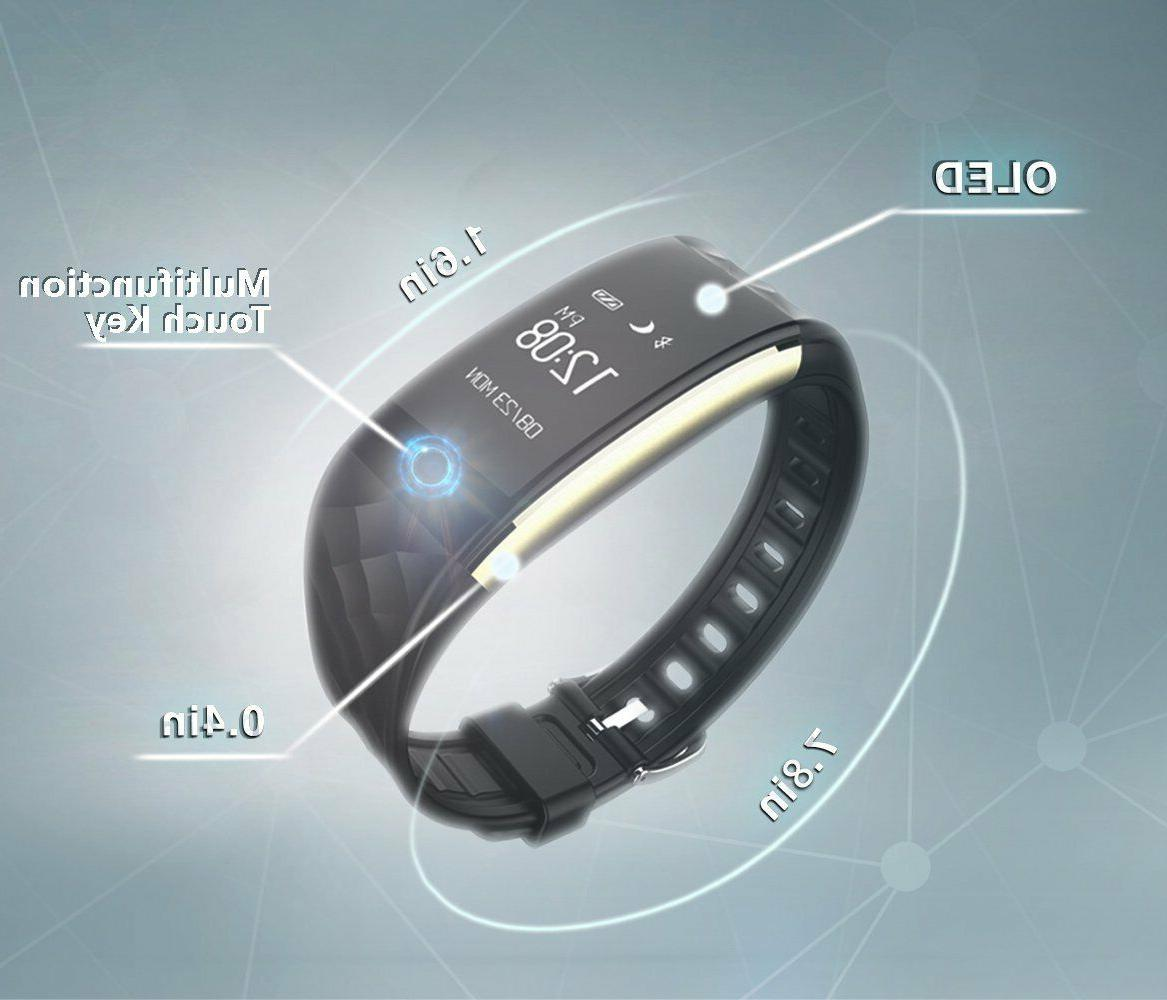 Fitness Tracker Health Activity Watch Wristband Heart Rate