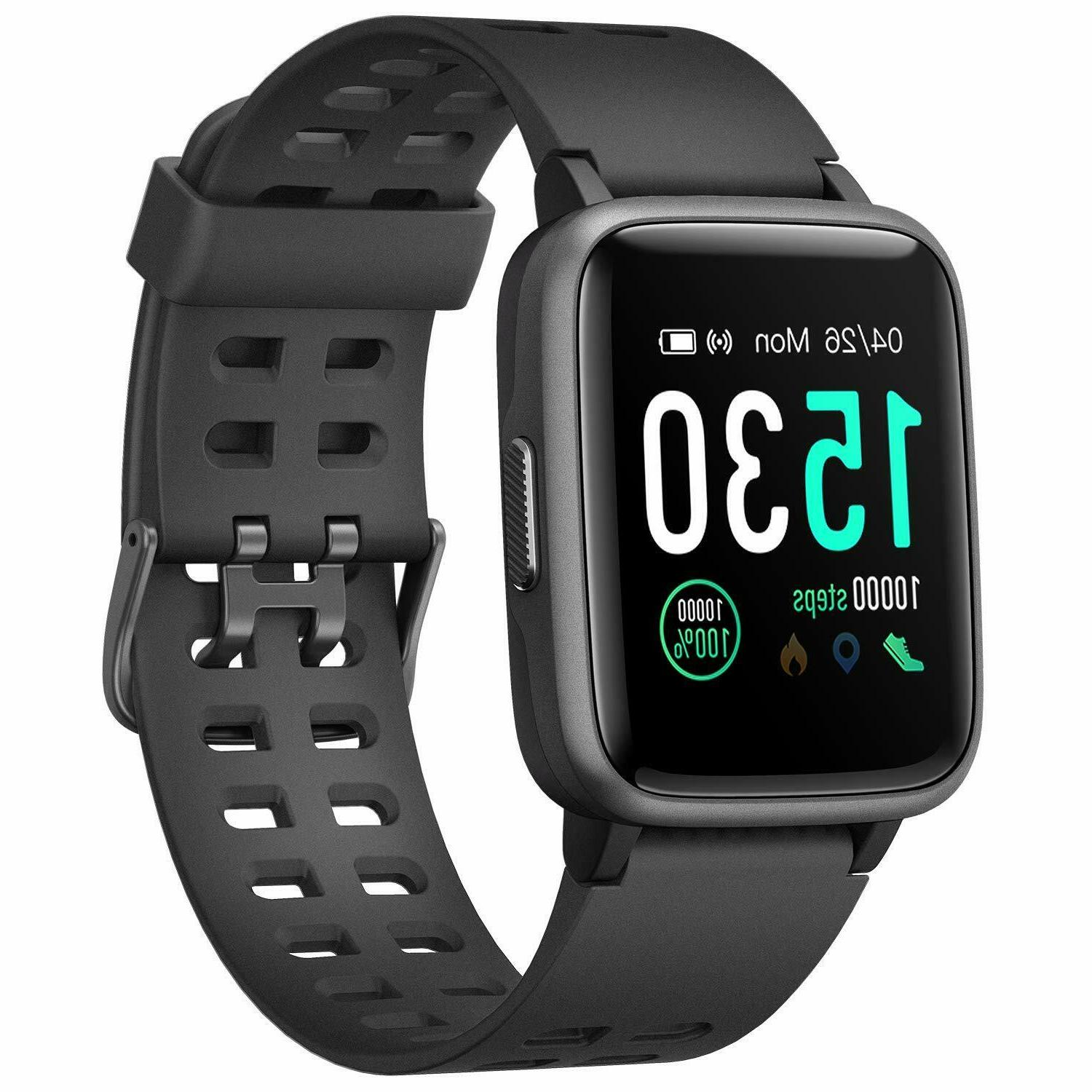 fitness tracker heart rate activity monitor touch