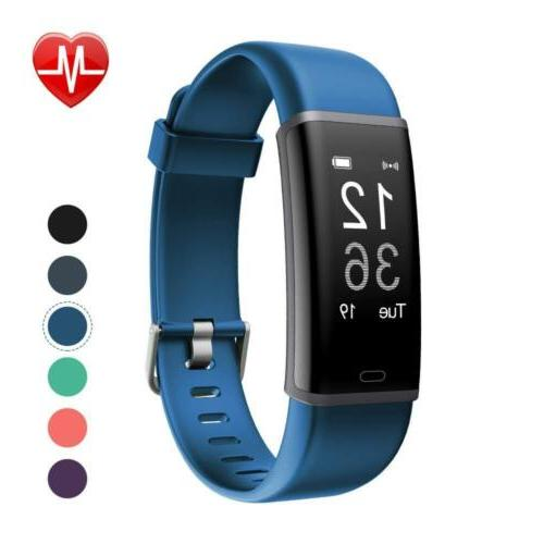 fitness tracker heart rate monitor bluetooth activity
