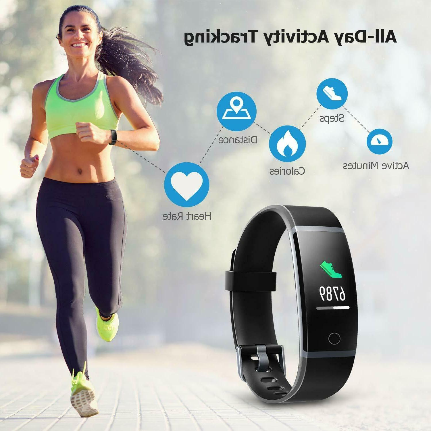 LETSCOM Fitness Rate Monitor Sport Watch