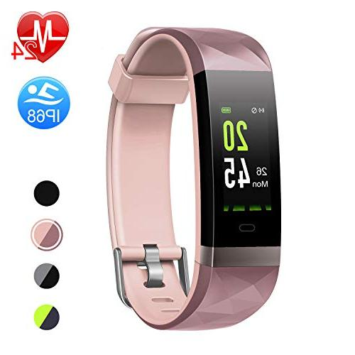 fitness tracker hr color screen heart rate