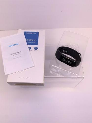 fitness tracker smart watch id115uhr heart rate