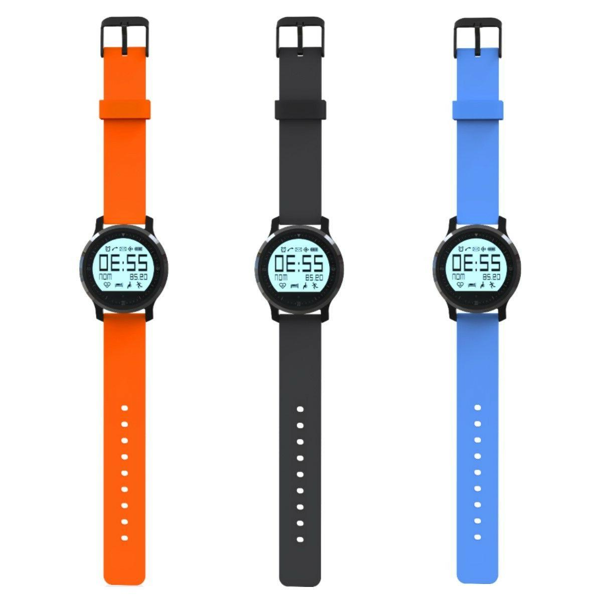 Fitness Tracker Watch, Rate + Activity Bluetooth App
