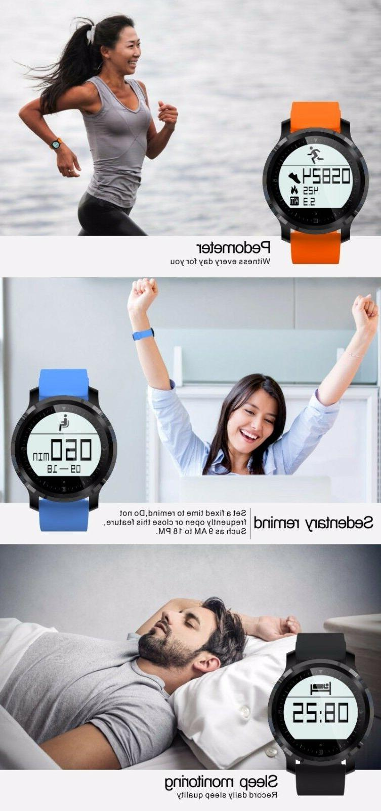 Fitness Tracker Rate Monitor, + Activity Bluetooth