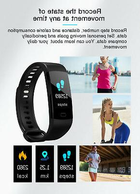Fitness Blood Monitor Watch